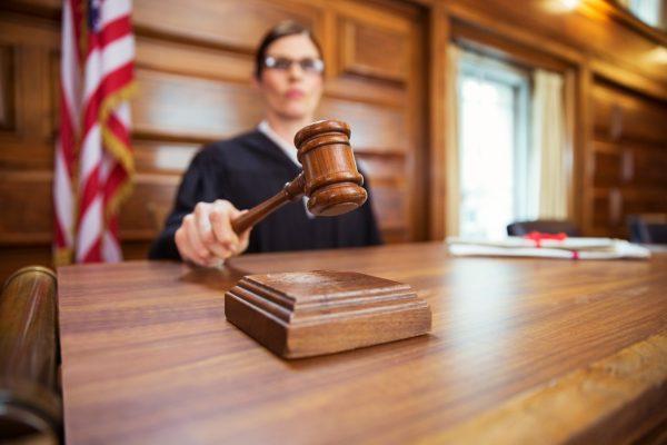 Sudija, Presuda