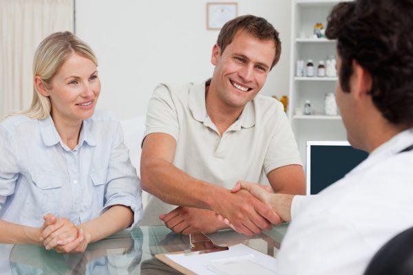 Partneri, doktor, konsultacija