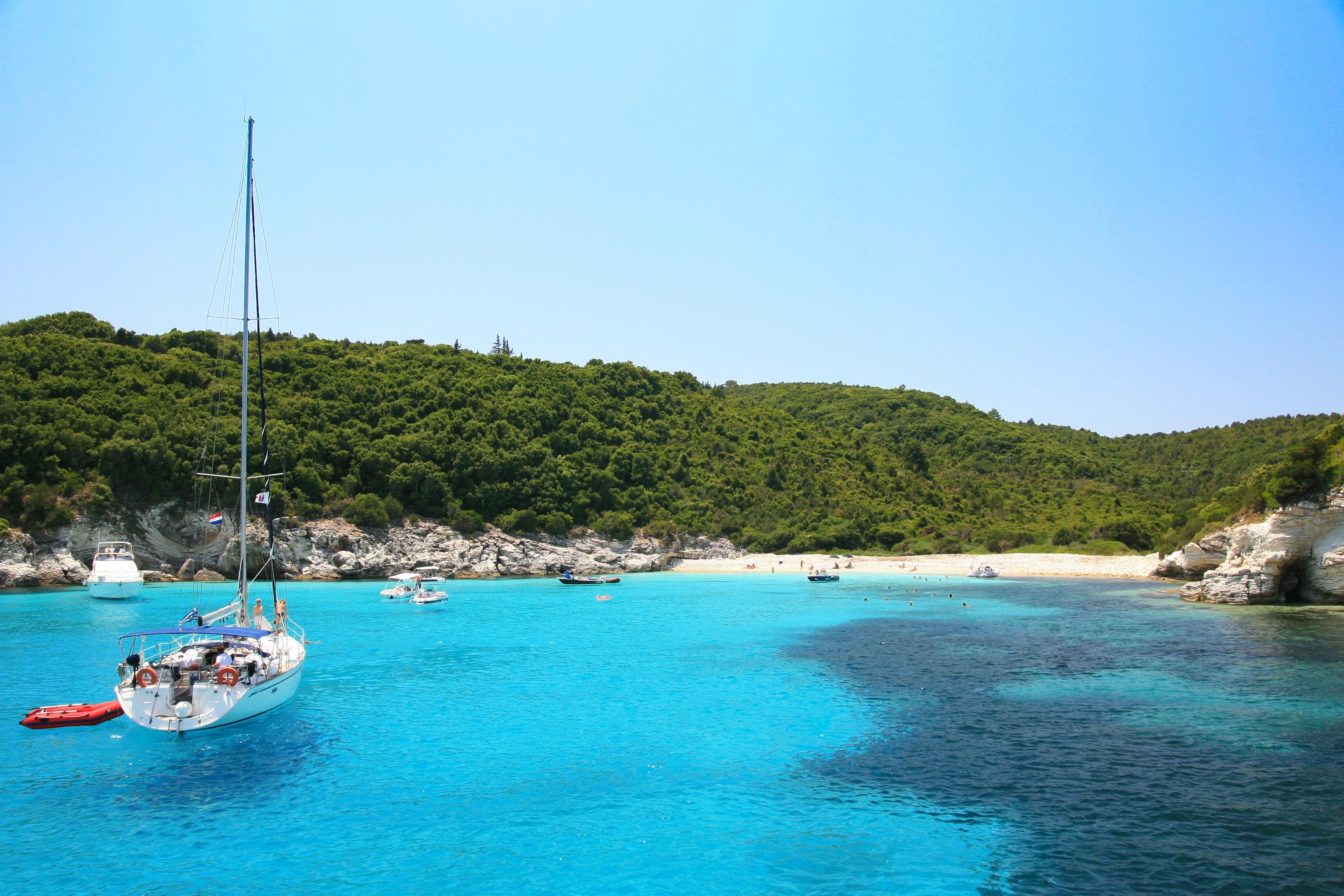 Corfu bay