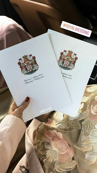 Pozivnice za kraljevsko venčanje