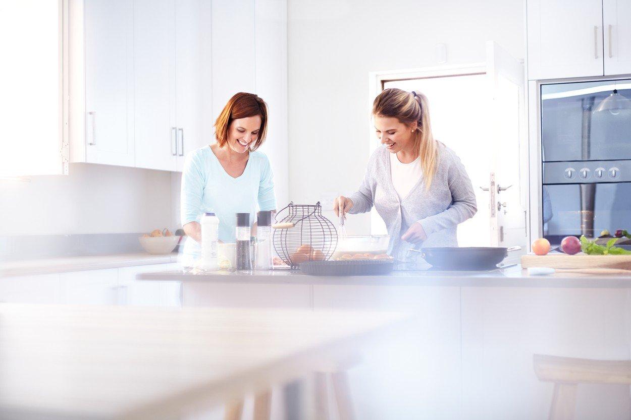 kuhinja, drugarice, kuvanje