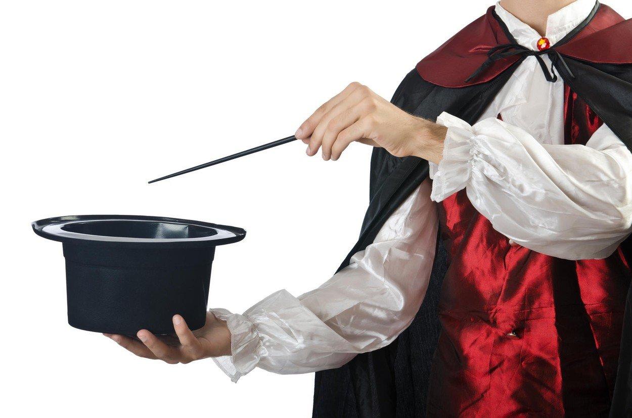 mađioničar, magija, trikovi